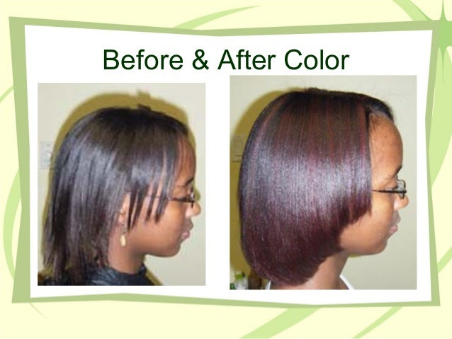 Before After Relaxer 17