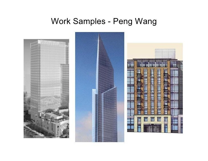 Work Samples - Peng Wang