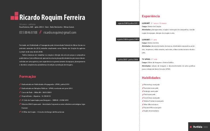 Ricardo Roquim Ferreira                                                                                              Exper...