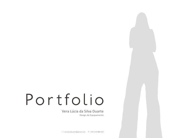 Portfolio   Vera Duarte
