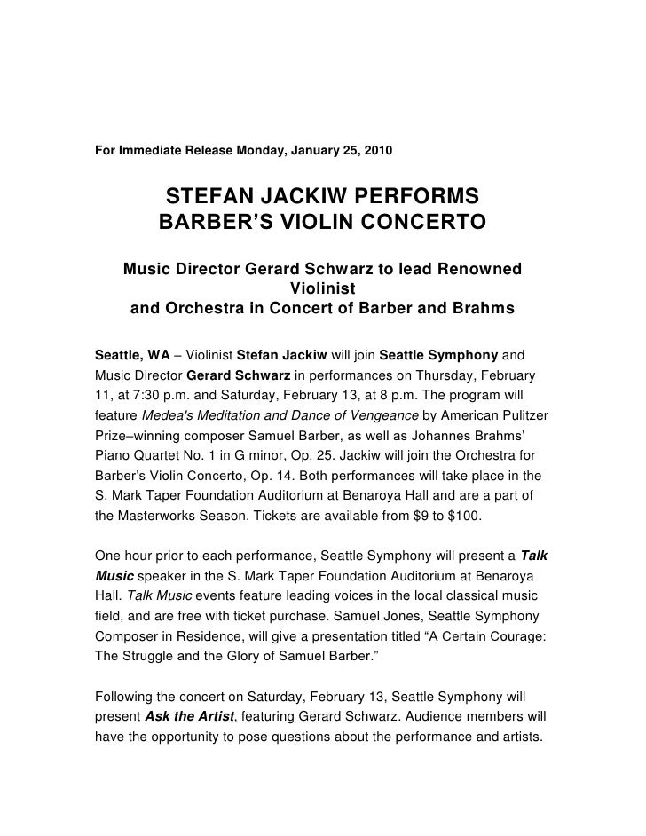 <br />                                                    <br /> <br />For Immediate Release Monday, January 25, 2010<br ...