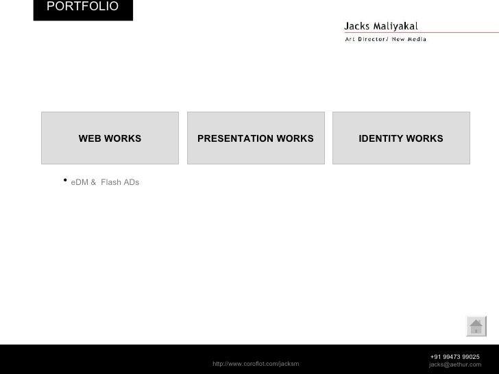 WEB WORKS PRESENTATION WORKS IDENTITY WORKS <ul><li>eDM &  Flash ADs </li></ul>