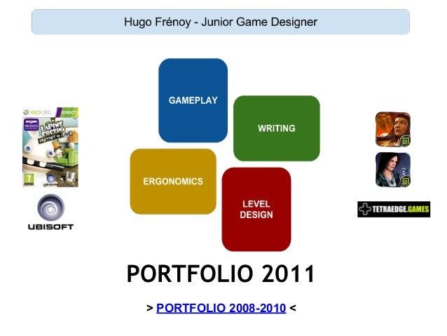 PORTFOLIO 2011 > PORTFOLIO 2008-2010 <
