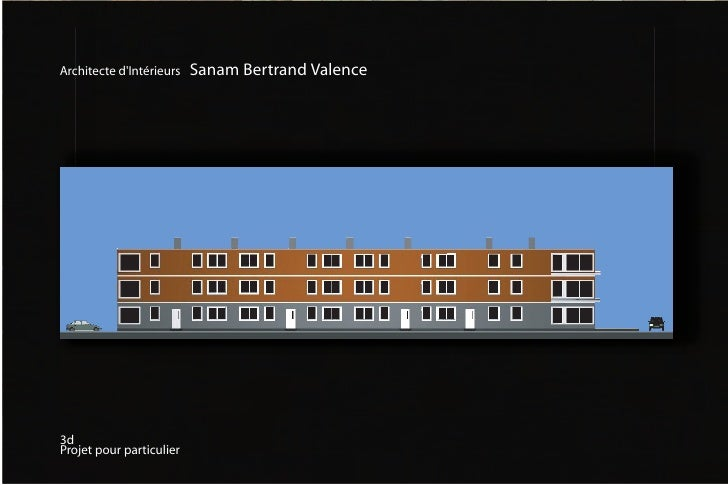 Architecte d'Intérieurs   Sanam Bertrand Valence     3d Projet pour particulier
