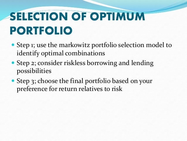 overview of portfolio theories If you invest, you've probably heard of modern portfolio theory but do you really know how to use it here are the best ways to use mpt to grow your money.