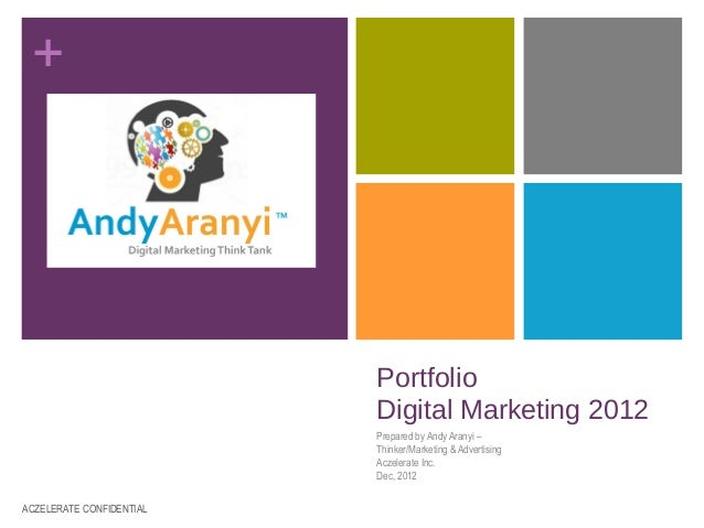 +                          Portfolio                          Digital Marketing 2012                          Prepared by ...