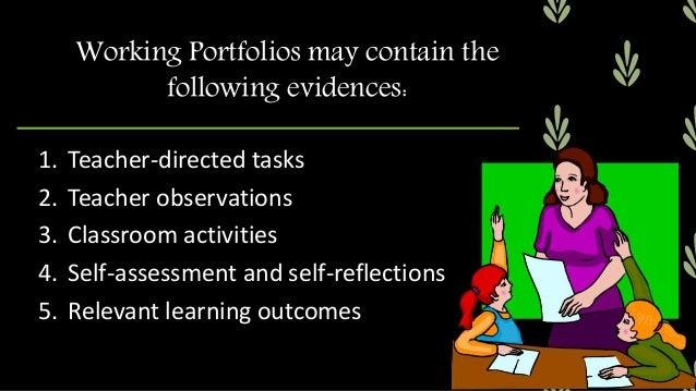 Types of Portfolios 1. Documentary Portfolios