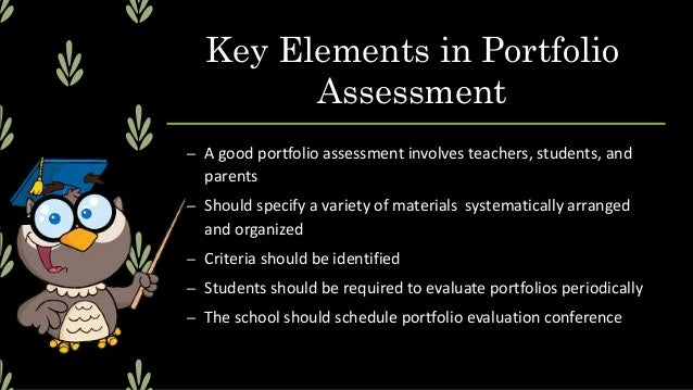 Questions in Portfolio- making 1. What is the purpose in making a portfolio? 2. Who should make the portfolio? 3. How long...