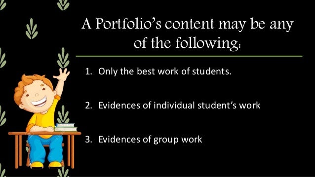 1. It can monitor the learning progress of a student over a given period. 2. It can show the student's best work. 3. It ca...