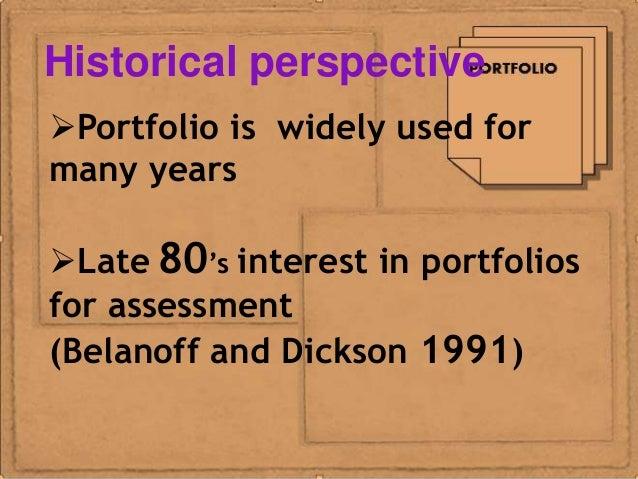 Portfolio assessment method report ko Slide 2