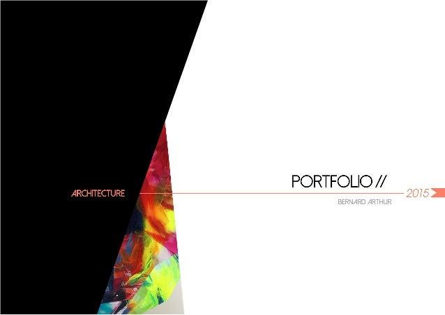PORTFOLIO / /  ARCHITECTURE