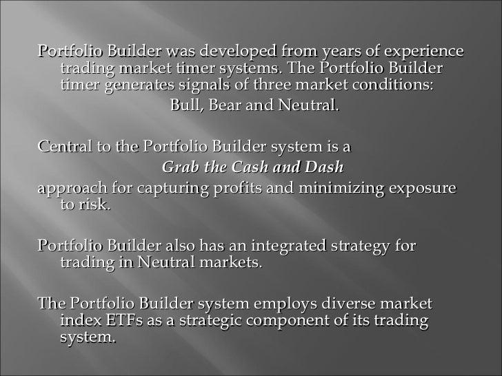 Portfolio Builder Update Slide 3