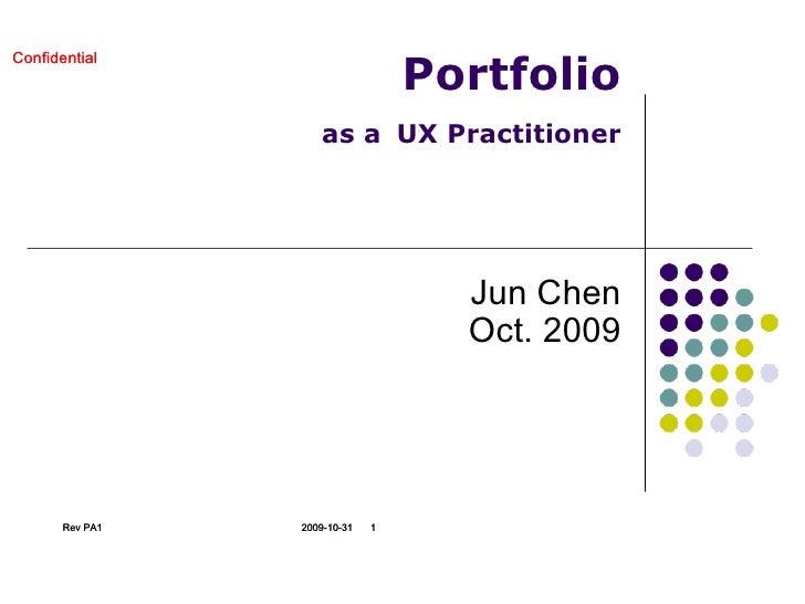 Portfolio as a ux professional