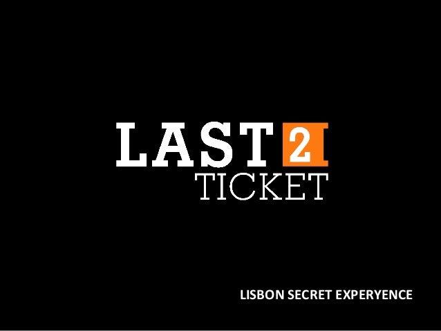 LISBON SECRET EXPERYENCE