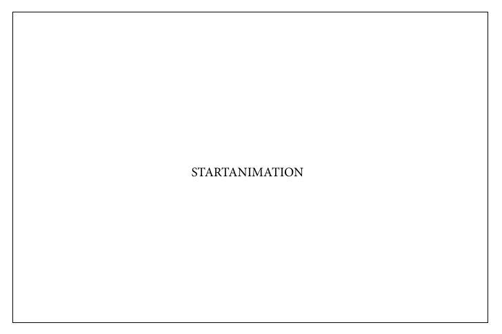 STARTANIMATION