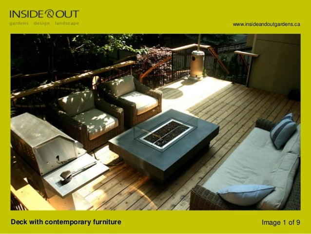 Decksby Inside And Out Garden Design; 2. ...