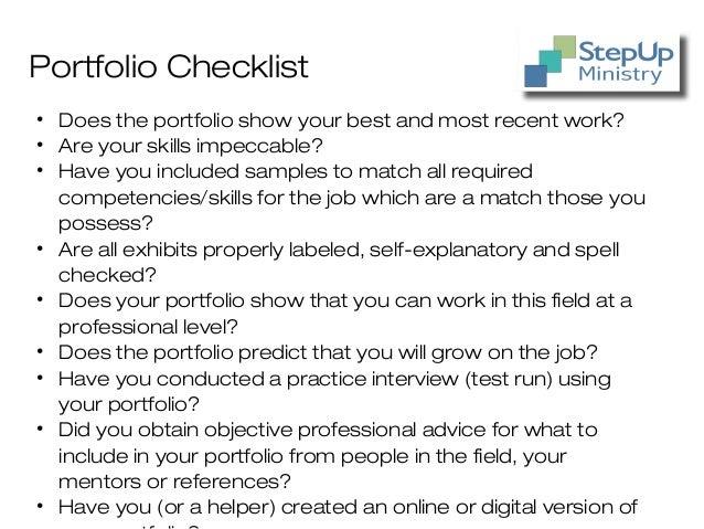 Job Interview 3 Career Portfolio E Portfolio Lessons Tes Teach