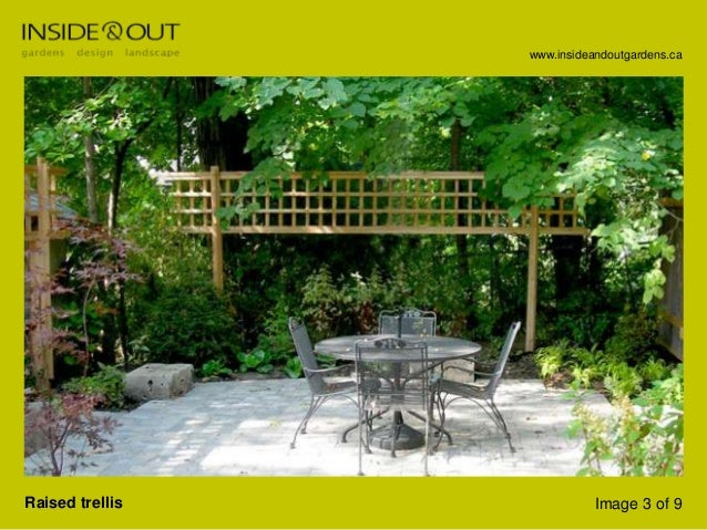 Toronto Landscape Design Company, Inside And Out Garden Design - Trel…
