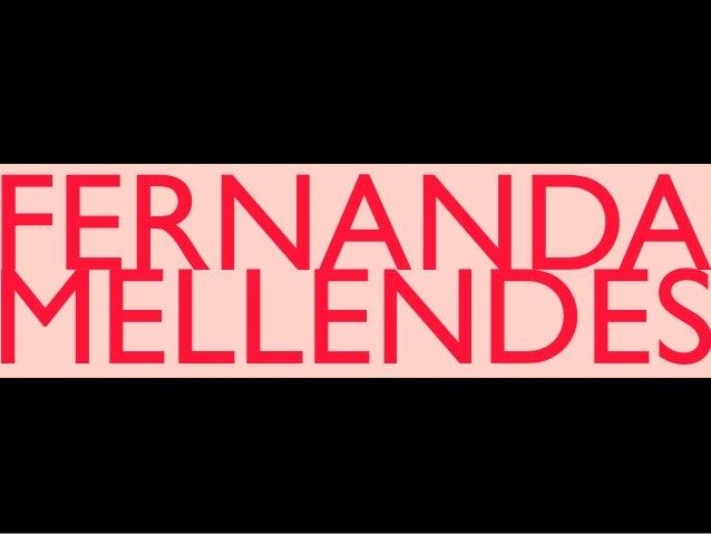 FERNANDA MELLENDES