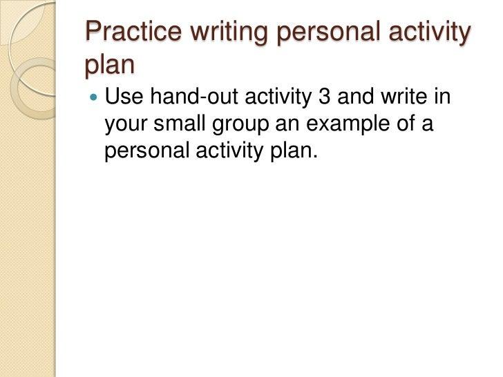 how to write a personal portfolio