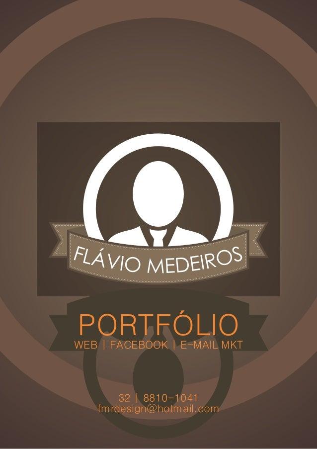 ME CHAMO FLÁVIO MEDEIROS!SOU DESIGNER GRÁFICO COM FOCO EMWEB, POSSUO VASTA EXPERIÊNCIA NA CRIAÇÃODE LAYOUTS PARA SITES, PO...