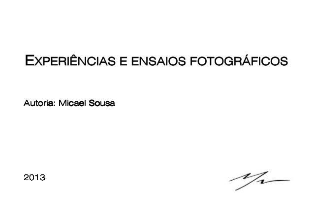 Autoria: Micael Sousa2013