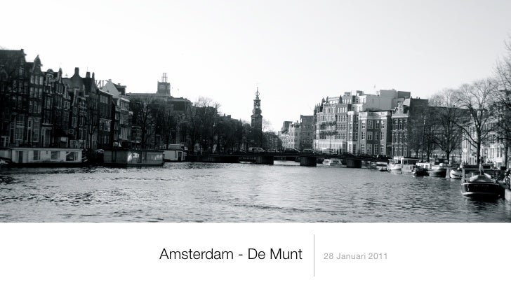 Amsterdam - De Munt   28 Januari 2011
