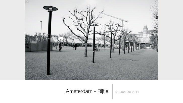 Amsterdam - Rijtje   29 Januari 2011