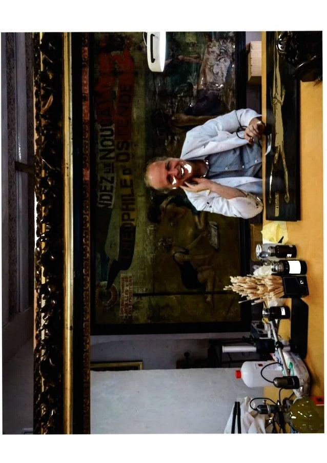 Frederik Cnockaert art restorer kunstrestaurateur restaurateur d'oeuvres d'art french dutch
