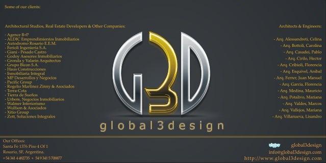 Portfolio G3D November 2012