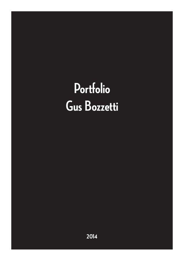 Portfolio Gus Bozzetti 2014