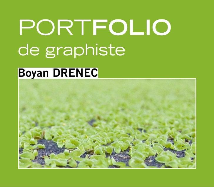 Portfolio de graphiste Boyan DRENEC