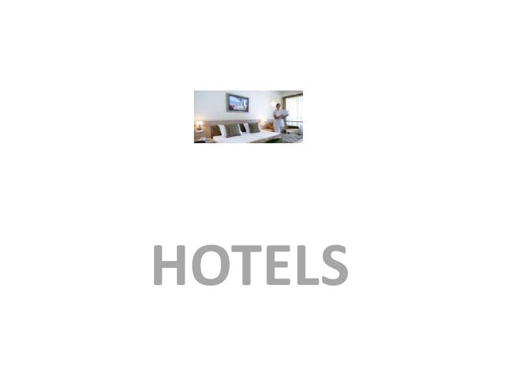 HOTELS<br />