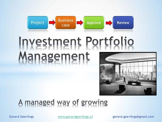 investment portfolio project