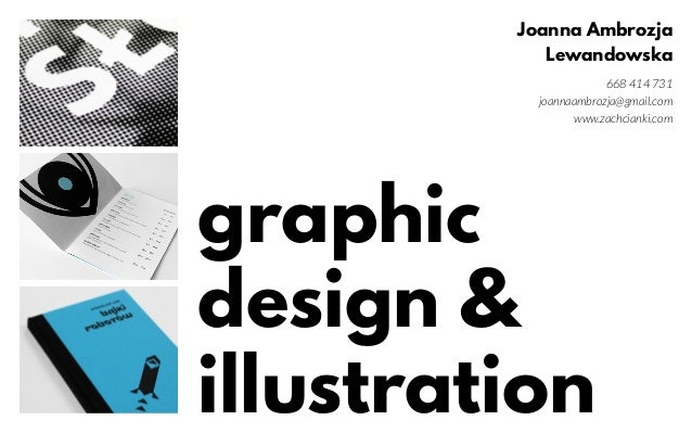 Portfolio Projektowanie Graficzne Joanna Ambrozja Lewandowska