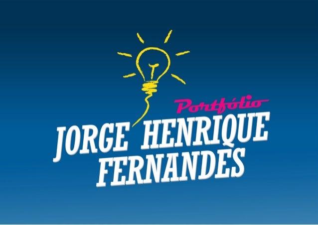 Portfolio Jorge