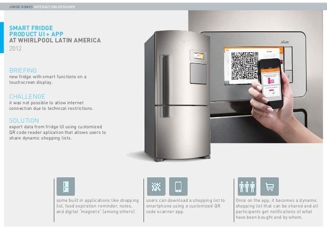 PORTFOLIO - Jorge Gomes -  UX & Interaction designer - 2013 Slide 2