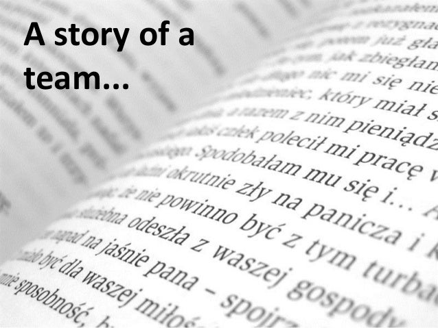 A story of ateam...