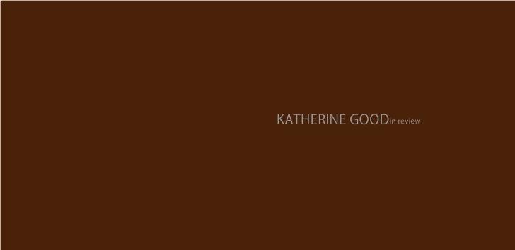 KATHERINE GOODin review