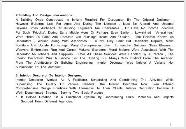 Khushbu bhatnagar b sc interior design residential for Skilled craft worker makes furniture art etc
