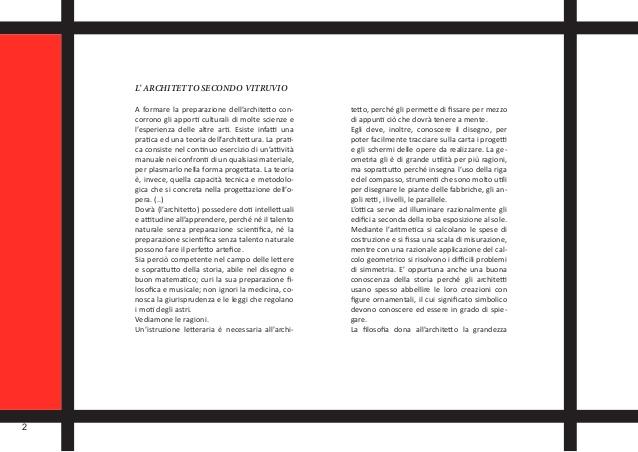 Favoloso Buscato Riccardo Portfolio di Laurea in Scienze dell'Architettura- a.… FX75