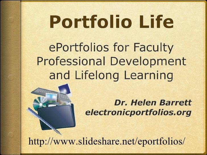 http://www.slideshare.net/eportfolios/