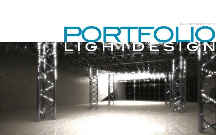 PORTFOLIO         P U OR D I U S-2 1          A L O RG E 0 0     lightdesign