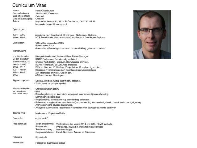 Portfolio en CV