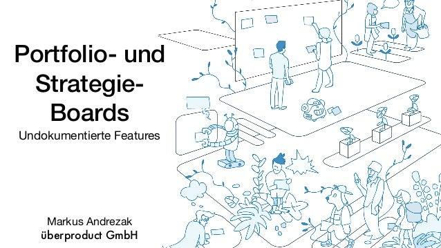 Portfolio- und Strategie- Boards Undokumentierte Features Markus Andrezak  überproduct GmbH