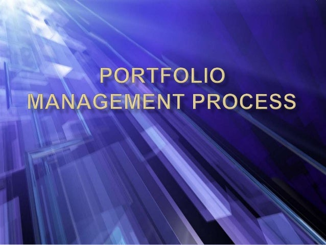 WHAT IS PORTFOLIO? MEANING Portfolio is a financial term denoting a collection of investments held by an investment compan...