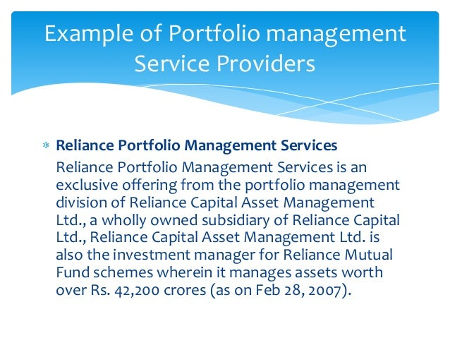 disadvantages of portfolio management services Disadvantages of project portfolio managementthe official ppm may not accurately reflect the organization activity because some of the project my be.