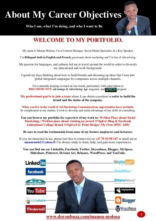 Portfolio Advertising, Branding, Digital Marketing & Social Media Slide 2