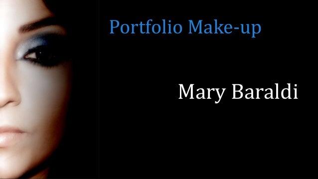 Mary Baraldi Portfolio Make-up