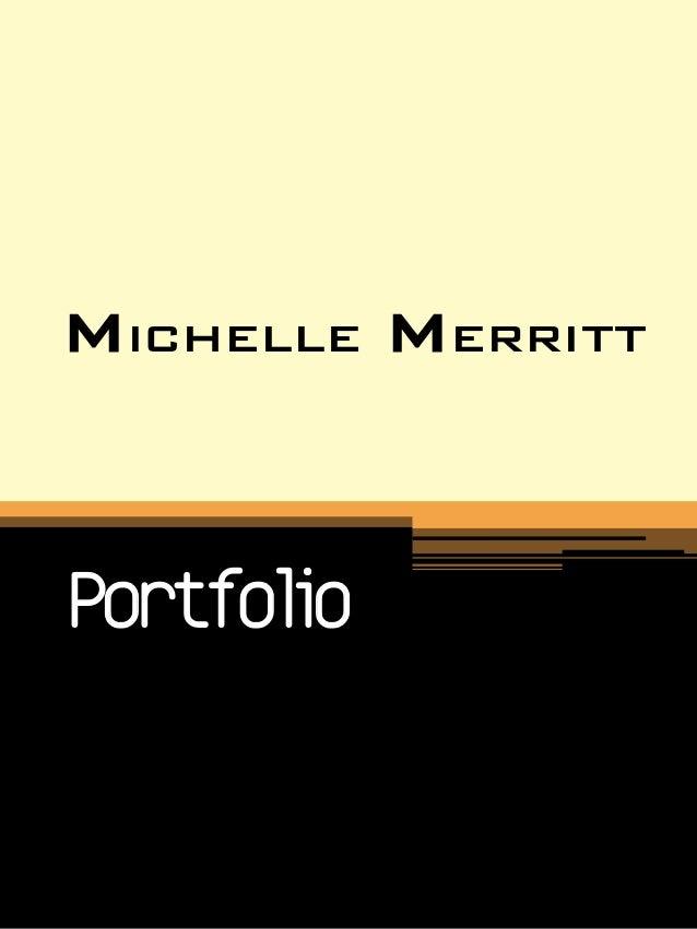 Michelle MerrittPortfolio